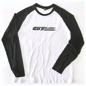 GTE Ford Performance Black White L/S Jersey NWOT